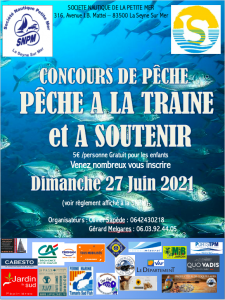 Concours de pêche à la traîne et à soutenir @ SNPM | La Seyne-sur-Mer | Provence-Alpes-Côte d'Azur | France